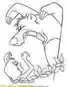 Mowgli y el oso