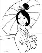Retrato de Mulan
