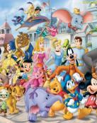 Pasacalles de personajes Disney