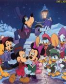 Fondo de Navidad Disney