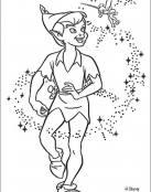 Peter Pan y su hada Campanilla
