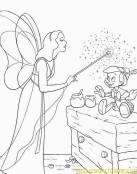 Pinocho recibiendo la vida