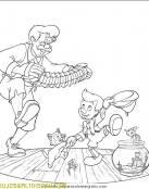 Pinocho baila al son de la música