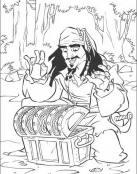 Piratas del Caribe y el tesoro