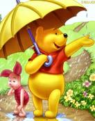 Wiinnie The Pooh y la lluvia