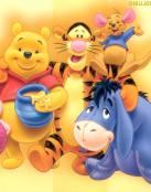 Winnie Pooh y amigos