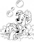 Baño de burbujas de 101 Dalmatas