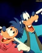 Goofy y su amigo