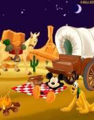 Aventura del oeste de Mickey y Pluto