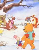 Día de nieve para Winnie The Pooh