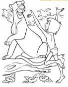 Mowgli y el tigre