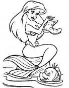 Sirenita feliz