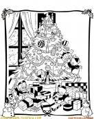 Sobrinos del tío Gilito en Navidad