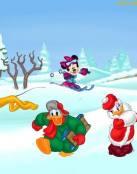 Nieve en Disney